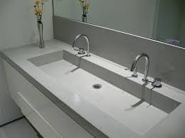 bathroom sinks and countertops. Exellent Bathroom Concrete Sinkcountertops Intended Bathroom Sinks And Countertops E
