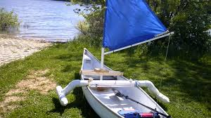 make a simple sail for your canoe kayak dingy for under 20 the maiden voyage you