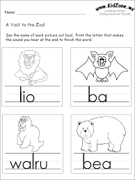 Kindergarten Level 1 Phonics Worksheets Download Them And Try To ...