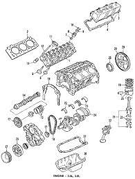 parts com® ford engine short block 3 0l partnumber e9dz6009c 1986 ford taurus l v6 3 0 liter gas engine