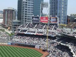 Petco Park Seating Chart Field Box Petco Park San Diego Padres Ballpark Ballparks Of Baseball