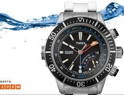 timex intelligent quartz depth gauge dive watch affordable and timex intelligent quartz depth gauge dive watch affordable and very cool 225