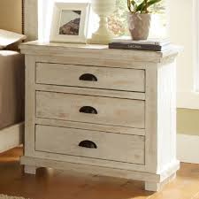 distressed white table. Interior Elegant Distressed White Nightstand 5 Pottery Barn Off Table A