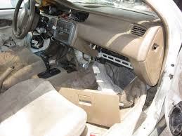 working on a harlequin interior for my civic one junkyard piece at a time the truth about cars