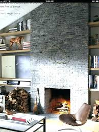 grey brick fireplace grey brick fireplace surrounds painted a black home interior design jobs surround b