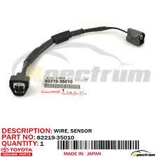 toyota 4runner knock sensor toyota genuine oem v6 knock sensor wire harness 82219 35010 4runner pickup