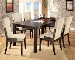 dark wood dining room set black large tables