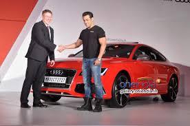 audi new car releasePhotos  Salman Khan launches Audi RS 7 Sportback luxury car