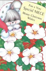 Office Christmas Wishes Amazon Com For A Very Special Niece Merry Christmas Wishes N2