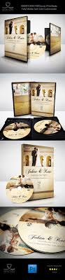 Wedding Dvd Template Wedding Dvd Cover And Dvd Label Template Vol 4 On Behance