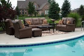 fashionable sofa sets for patio choose elegant furniture for your patio