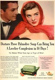hair beauty adverts from the 1950s