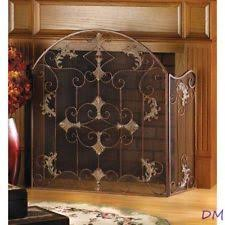 French Country Villa Manufactured Stone  Champagne  Fireplaces French Country Fireplace