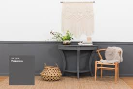 wall paint matched to furniture