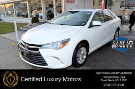 2015 Toyota Camry LE Stock # 0813 for sale near Great Neck, NY ...