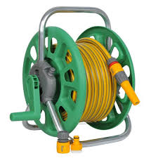 hozelock 2482 floor standing 25m garden hose reel includes 20m hose ings