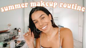 my everyday makeup routine for summer 2018