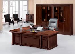 office table designs photos. Furniture Office Tables Design Rectangle Shape Brown Wooden Storage Cabinets Wall Mount Shelves Cream Fur Carpet Table Designs Photos