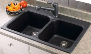 black kitchen sink elegant black graphite kitchen sink single bowl inside and out s