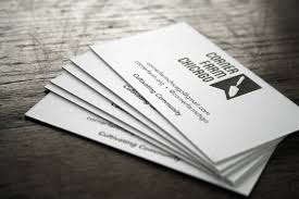 Letter Press Business Card 1000 1 Color Letterpress Business Cards