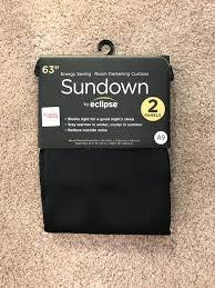 sundown by eclipse curtains 2 black sundown eclipse curtains general in sundown eclipse curtains e