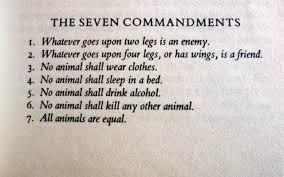 Essay On Animal Farm By George Orwell Animal Farm The Seven Commandments Essay Gothic Horror Stories Essay