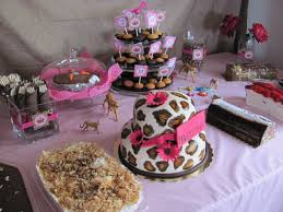 Leopard Print Party Decorations A Leopard Princess Safari Party All Of The Way From Cypress
