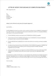 Letter Of Intent Templates Example Of Sponsorship Letter Voucher