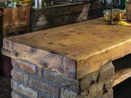 Rustic Bar Top Kitchen Island Breakfast Bar Pictures Ideas From Hgtv Hgtv
