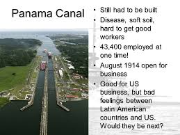 「1904, us paid 40 million dollars to buy the panama canal」の画像検索結果
