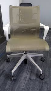 setu office chair. Used Herman Miller Setu Conference Chair Office O