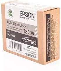 <b>Epson</b> T850900 T850 UltraChrome HD <b>Light Light Black</b> Ink