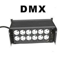 Strand Lighting 6 Pack Convert Strand Act 6 Analog Dimmer Packs To Dmx