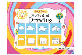 easy steps series my book of drawing book a