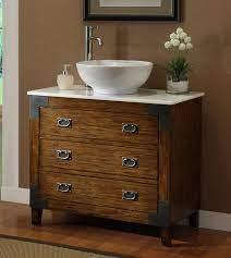 36 Asian Inspired All Wood Construction Akira Vessel Sink Bath Vanity Cf35535 Chans Furniture