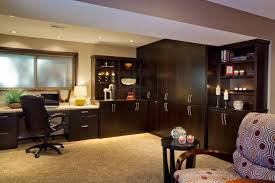 Basement Office Design Delectable Elegant Small Basement Office Ideas Mysticirelandusa Basement Ideas