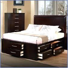 Pedestal Bed Frame Pedestal Bed Frames Black Modern Bed Frame ...