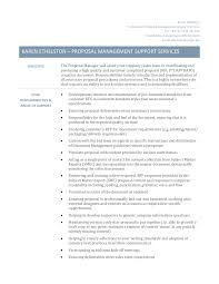 Proposal Management Support Services