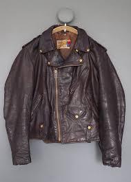 vintage schott perfecto leather jacket