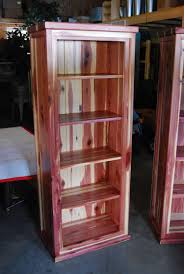 Custom Amish-Made Red Cedar Book Shelf from Cabin Creations in Phillips, WI
