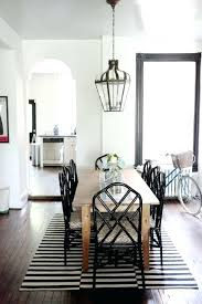 black chairs for dining table love with and rug white in room modern
