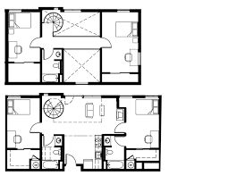 University Lofts Apartments University Of Denver - Loft apartment floor plans