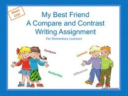my best friend a compare and contrast essay assignment tpt my best friend a compare and contrast essay assignment