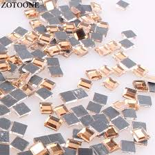 zotoone ss10 1yard ab nails rhinestone chain strass applique diy crystal trim stones for clothes decoration sew on garment bags