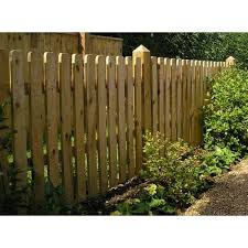heavy duty single panel round top garden picket panel fence 1 8m x 1 8m
