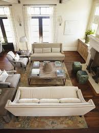 Family Room Furniture Layouts Gorgeous Two Sofa Living Room Design Property