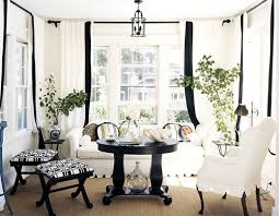 Simple Black And White Curtains How Do You Feel About Intended Inspiration