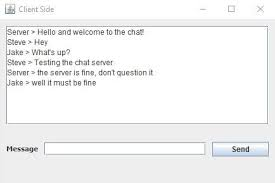 creating a chat server using java steps pictures introduction creating a chat server using java