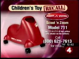 radio flyer tricycle recall radio flyer scott n zoom recall youtube