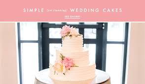 Wedding Cake Ideas Simple And Clean Cake Designs Inside Weddings